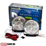 DLED ДХО Ходовые дневные огни DRL - 140 S-Flux 2x1.5W